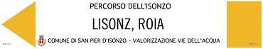Percorso dell'Isonzo [GIALLO]
